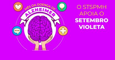Mês Mundial da Doença de Alzheimer   Setembro Violeta reforça conscientização