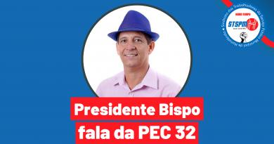 """Leia a publicação do presidente Bispo no Jornal Última Hora: """"PEC 32 – O que não estamos vendo?"""""""