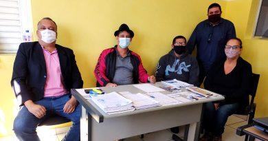 Confira a visita do Vereador André Maqfran, da Câmara de Cosmópolis, e de Vagner Soares, da SEGCREDI
